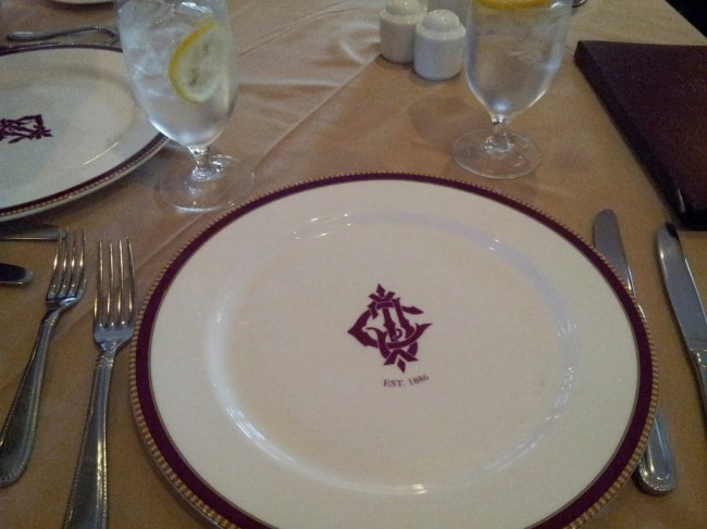 Dine in the Old World way at the Grand Ballroom of the Jekyl Island Club Hotel