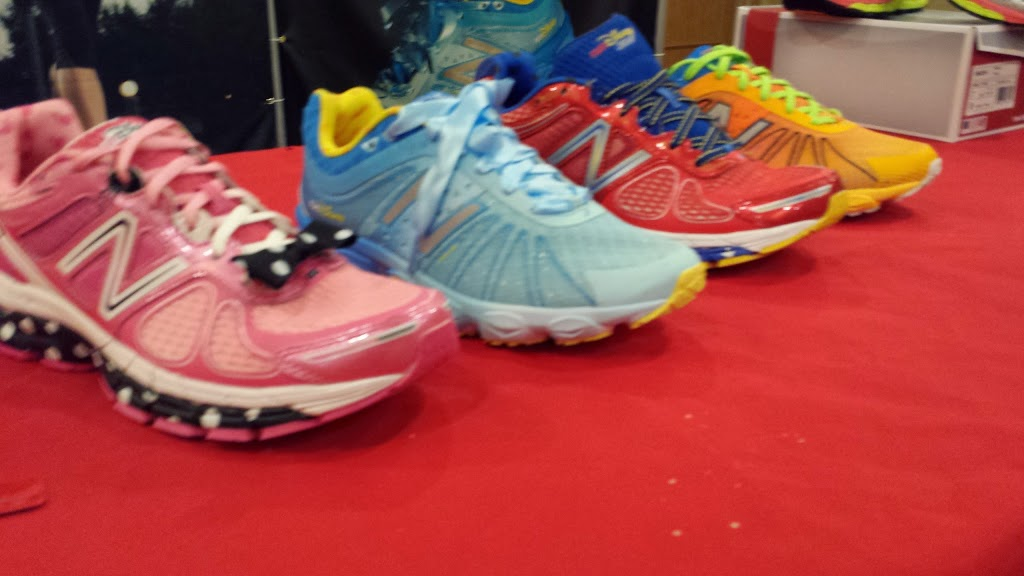 A pair of Disney New Balance shoes went home with the Disney Social Media Moms