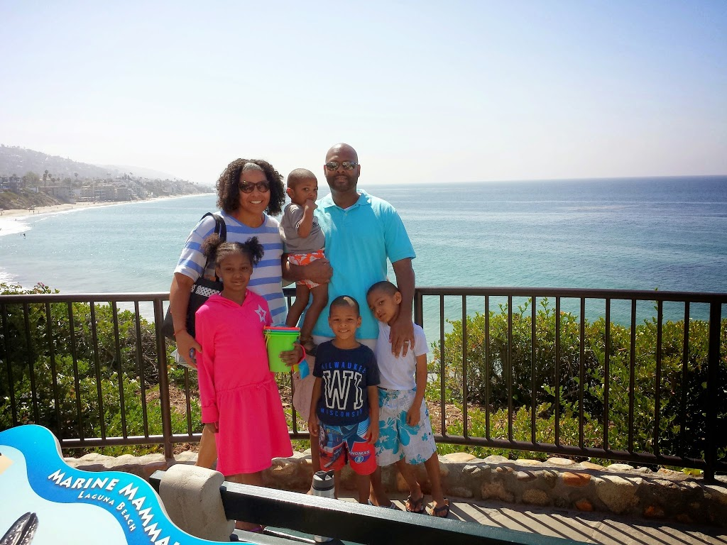 Maria Smith and family at Inn at Laguna Beach