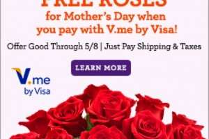 Hot deal! Get FREE roses for Mother's Day