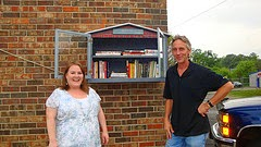 Little Free Library in Smyrna, Georgia