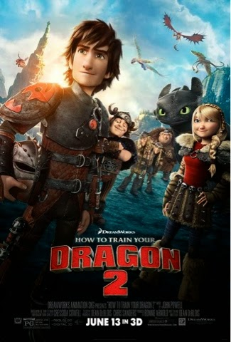 How to Train Your Dragon 2 in theaters June 13, 2014