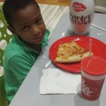 Pizza at Main Event