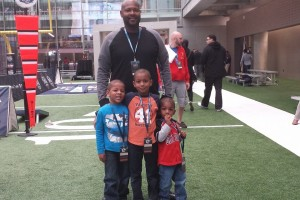 Boys Day Away at the College Football Hall of Fame