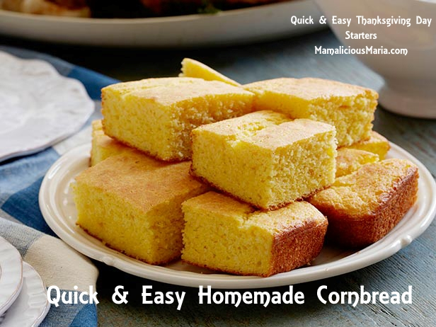 Moist and easy homemade cornbread
