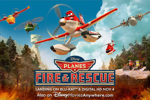 Everyday Heroes & Disney Planes Fire & Rescue #FireandRescue