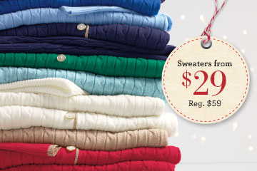 soft sweaters on sale at Lands End