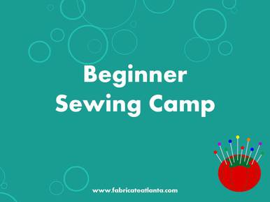 Fabricate Studios summer sewing camp