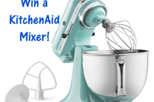 Giveaway| Win a KitchenAid Stand Mixer