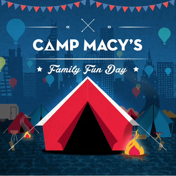 Camp Macy's Family Fun Day