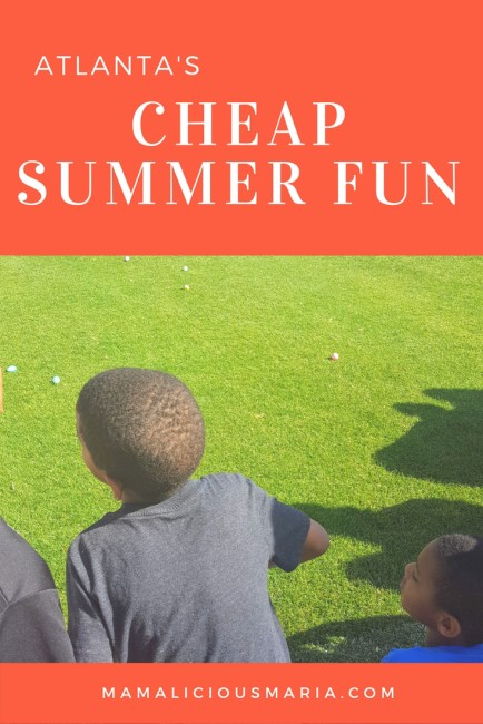 There are lots of free or cheap summer activities in Atlanta and beyond!