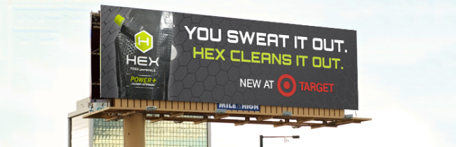 Hex Performance now at Target
