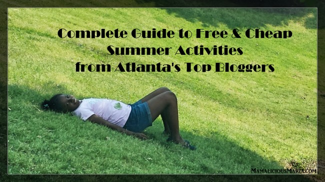 Complete guide to free and cheap summer activities from Atlanta's top bloggers