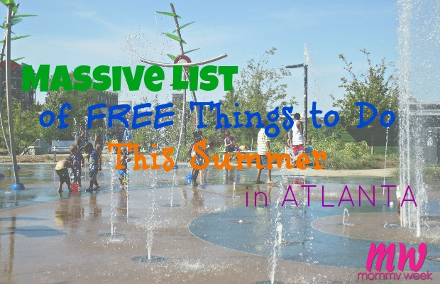Massive list of free things to do in Atlanta this summer