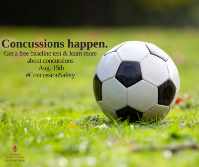 A concussion is a traumatic brain injury that can happen to anyone.