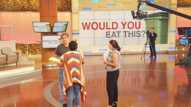 Dr. Oz and his team have extensive rehearsals of every show to make sure they get it right.