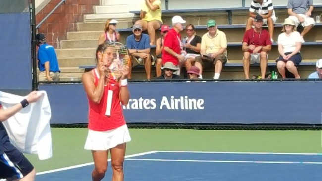 Barbora Strycova at the US Open