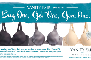 Vanity Fair Launches Buy One, Get One, Give One Events