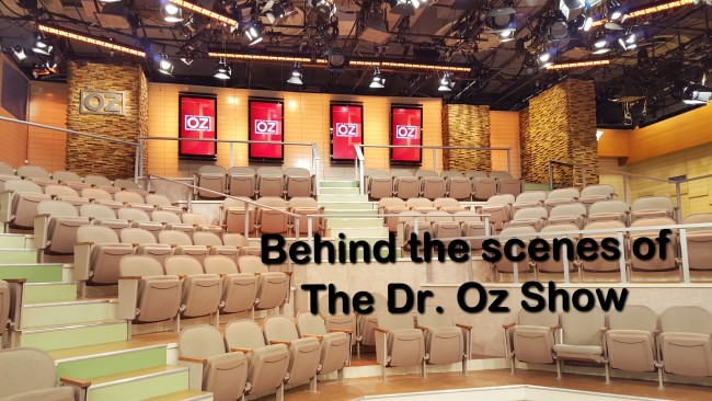 Behind the scenes at the Dr. Oz Show.