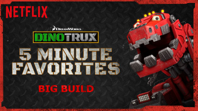 DinoTrux 5 minute favorites are a great way to let your child watch one more show.
