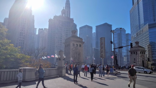 Michigan Ave in Chicago is the place I learned how to be an adult.