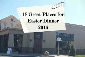 18 Atlanta Restaurants for Easter Dinner 2016
