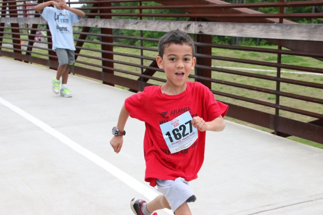 Atlanta Track Club hosts the Peachtree Jr each year.