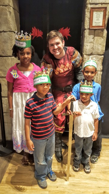 Birthdays are truly special at Medieval Times!