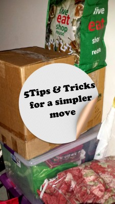 5 moving tips and tricks for an easier move.