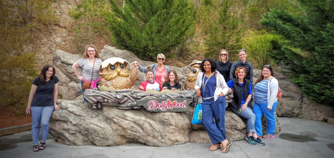 I was part of a select group invited to experience Dollywood this Spring.