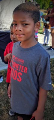 My kids have participated in the Atlanta Track Club's Kilometer Kids program for the last 2 years.