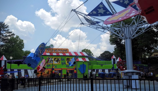 The DC Super Friends area is now open at Six Flags Over Georgia.