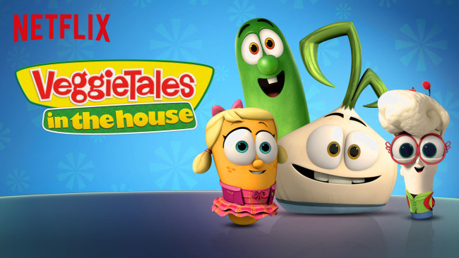 Veggie Tales is on my list to help educate and entertain my kids during our Netflix summer.