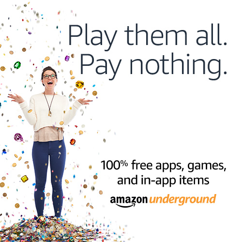 Download Amazon Underground to get free access to tons of games and in-app items! All FREE!