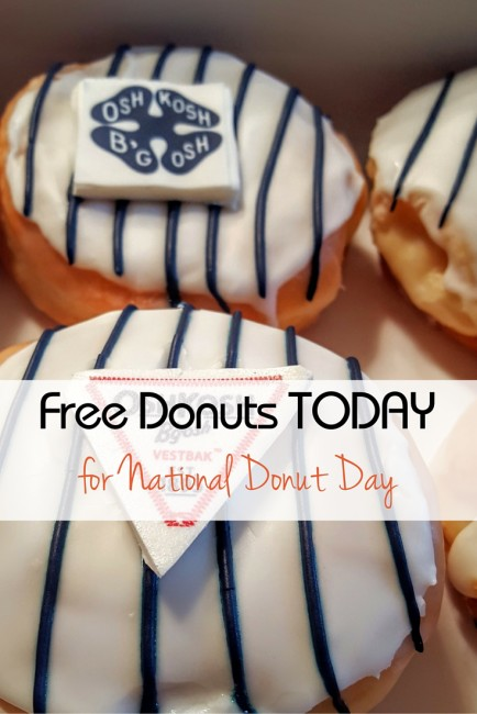 Get your free donuts today!