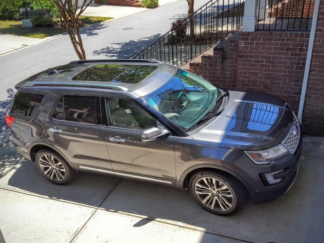 The 2016 Ford Explorer is sleek and sexy but yet can haul the whole family!