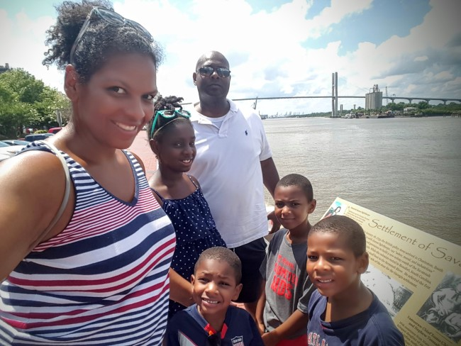 The Smiths hit Savannah and Tybee Island for Fourth of July.