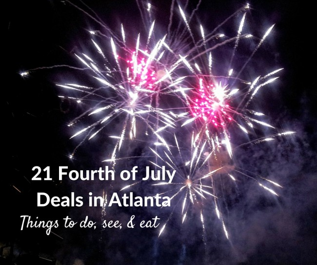 Fourth of July deals in Atlanta