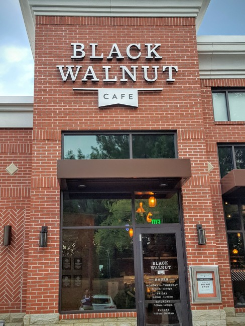 Family friendly dining in the Atlanta area now includes Black Walnut Cafe in Alpharetta.