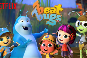6 Month Netflix Giveaway #beatbugs #streamteam