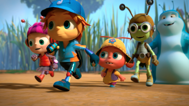 Beat Bugs is inspired by the music of the Beatles.