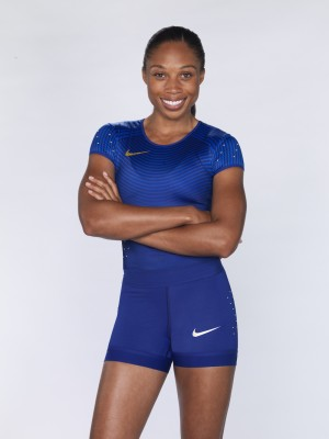 US Sprinter, Allyson Felix, is going for the gold again during the Rio Olympics.