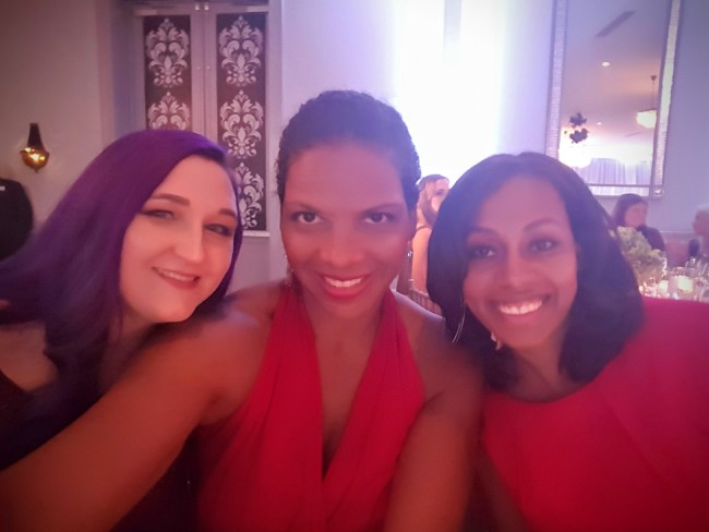 I was joined by Meghan Cooper, JaMonkey.com and Ari Adams, LovePeaceAndTinyFeet.com as Everywhere bloggers at the GCAPP gala.