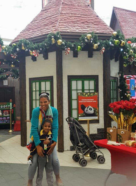 The Adventure to Santa experience at Northpoint mall is one of the fun 2016 Atlanta holiday events.