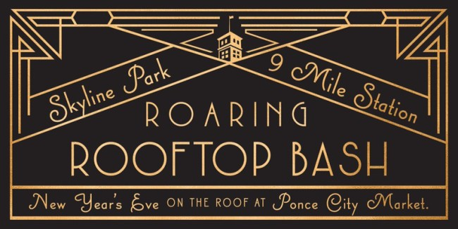 Ponce City Market is throwing an exclusive black tie New Year's Eve event this year.