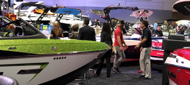The Atlanta Boat show is happening at the Georgia World Congress Center January 12-15.