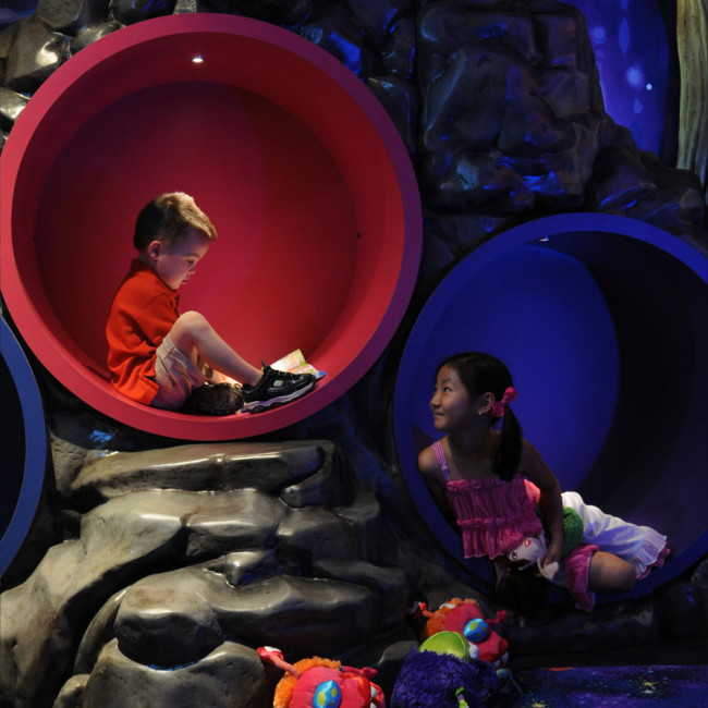 Kids Clubs, like the one at Atlantis Paradise Island, offer so much for kids to explore.