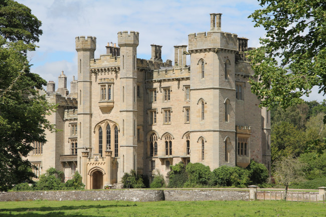 Duns Castle in Scotland is one of the castle vacation rentals available on HomeAway.com. Win a free stay!