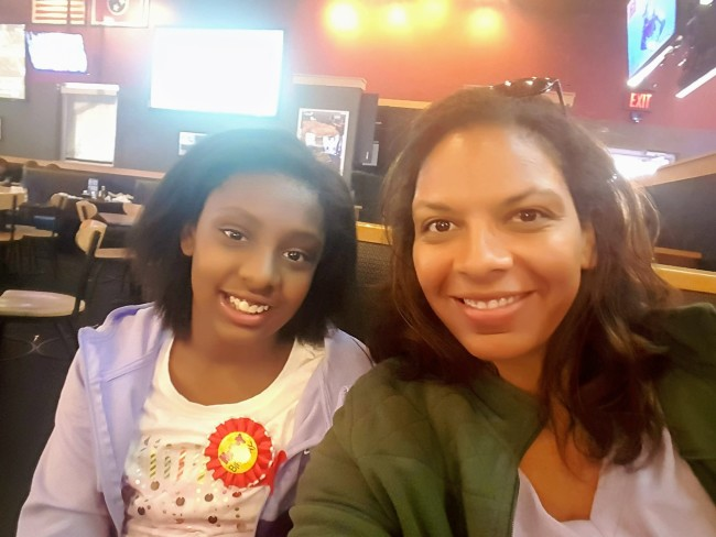 My daughter turned 10 during our trip so a birthday lunch at Buffalo Wild Wings made everyone happy!