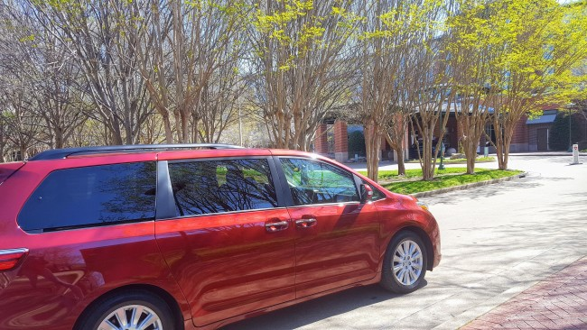 The Toyota Sienna made the trip to Chattanooga go very smoothly.